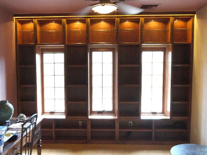 custom bookshelves book cases home library floor to ceiling custom design furniture built by design