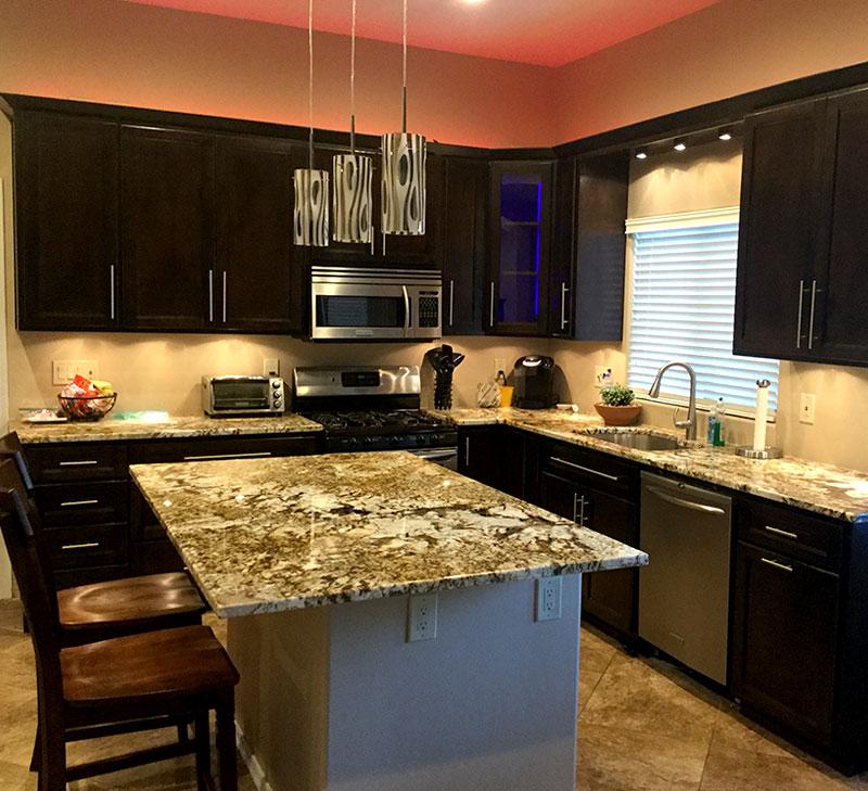 custom designed and built furniture including custom countertops custom built kitchen